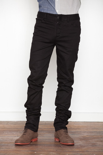 Lifetime Collective - Black Stringer Twill Pant