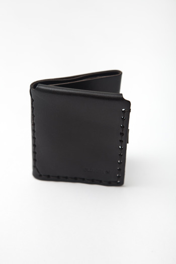 Billykirk - Black Trifold Wallet