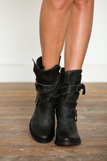 Jeffrey Campbell - Black France Boot