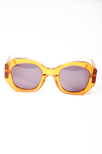 Karen Walker - Orange Patsy Sunglasses