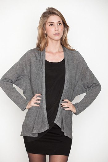 Laugh Cry Repeat - Grey 101 Cardigan