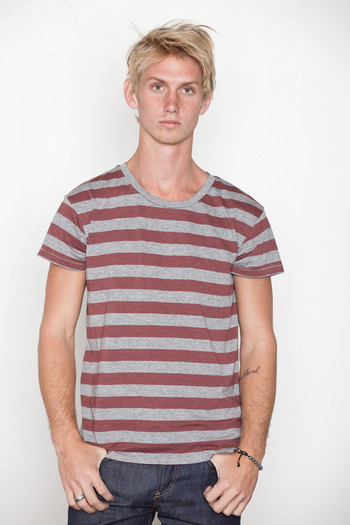 Cheap Monday Men's - Alex Stripe Tee