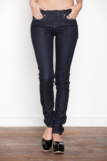 THEM Atelier - Women's Vault Indigo Low Rise
