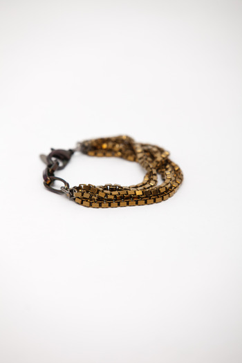 Joomi Lim - Titanium Box Chain Bracelet