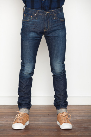 Wings + Horns - 1 Year Wash Slim Fit Jeans