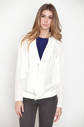 Kai-aakmann Women's Sateen Blouson