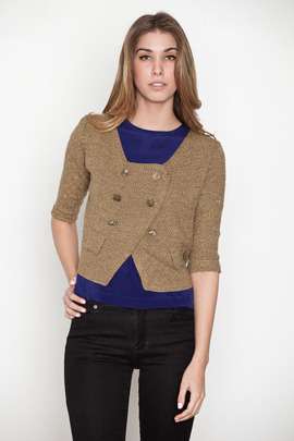 Funktional Rush Cropped Cardigan