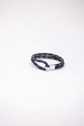 Miansai Navy Rope Beacon Bracelet