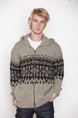 Lifetime Collective Kiruna Fair Isle Hoodie