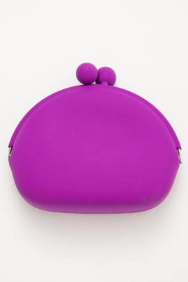 Ikuyo Ejiri Purple Pochi-Mon Purse