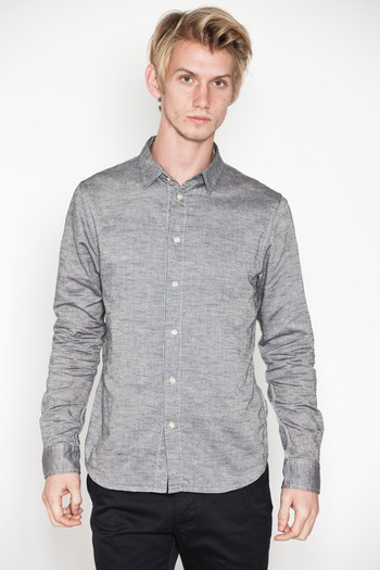 Wings + Horns - L/S Slub Oxford