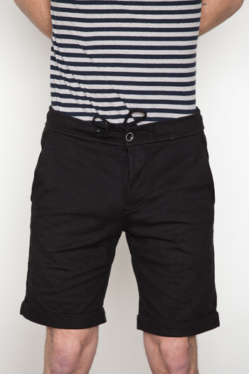 Wings + Horns - Jersey Cuffed Shorts