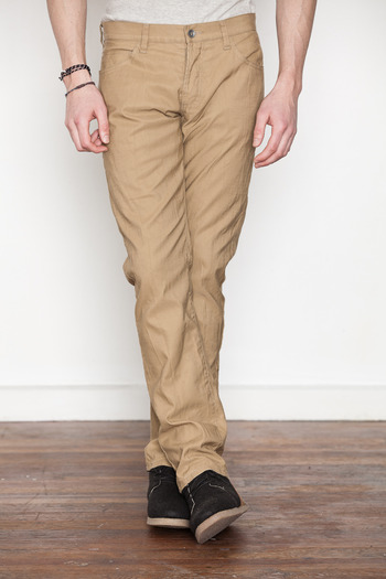 Wings + Horns - Tan German Corded Cloth Pant