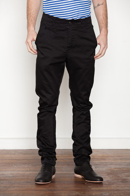 Wings + Horns Black Anti-Fit Chino