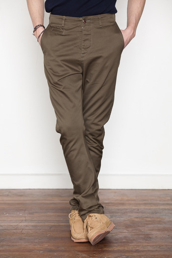 Wings + Horns - Olive Anti-Fit Chino