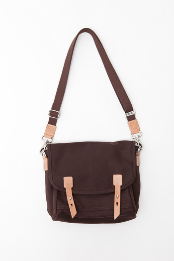 Makr - Brown Canvas Farm Satchel