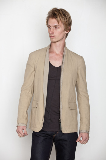 Robert Geller - Zipper Blazer