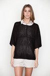 Cheap-monday-womens-black-shannon-sweater