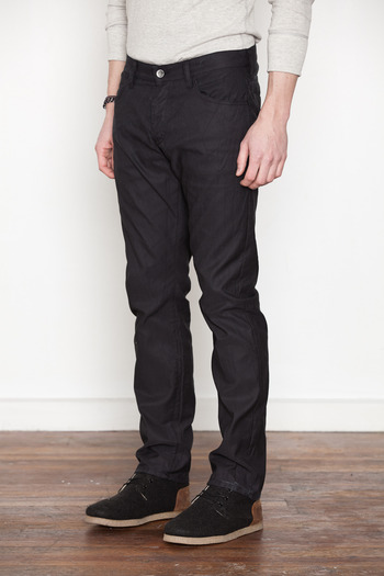 Wings + Horns - Black German Corded Cloth Pant