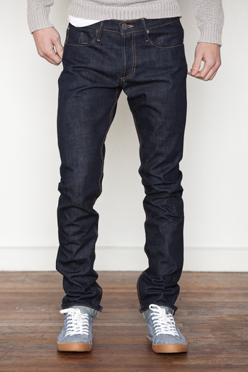THVM Atelier - Men's Raw Indigo Selvedge Tapered