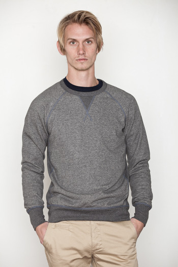 Reigning Champ - Reversible Circle Crewneck