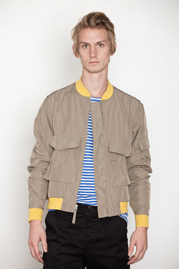 Opening Ceremony - Ribbed Bomber Jacket