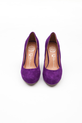 Jeffrey Campbell - Exclusive Purple/Blue Lulu Pump