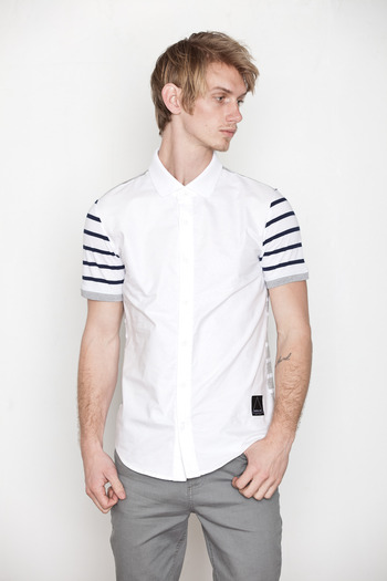 General Idea - Patchwork Stripe Polo