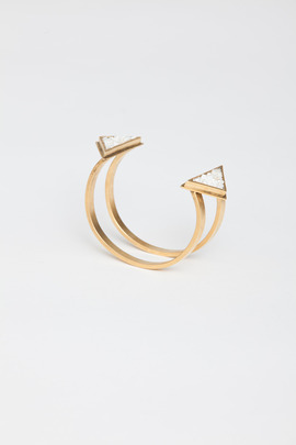 Lady Grey Reflected Triangle Cuff