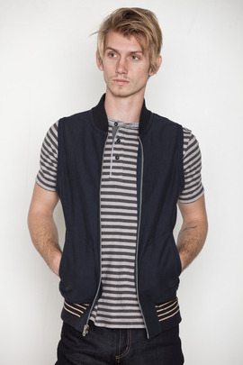 Reigning Champ Heavy Terry Varsity Vest