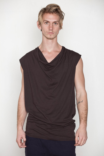 SILENT Men's - Thim Cowl Tee