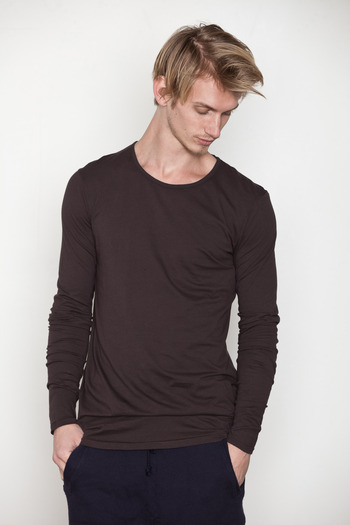 SILENT Men's - Aubergine Trip L/S Tee