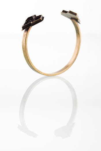 Lady Grey - Heart Bangle