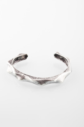Made Her Think Silver Mini Thorn Cuff