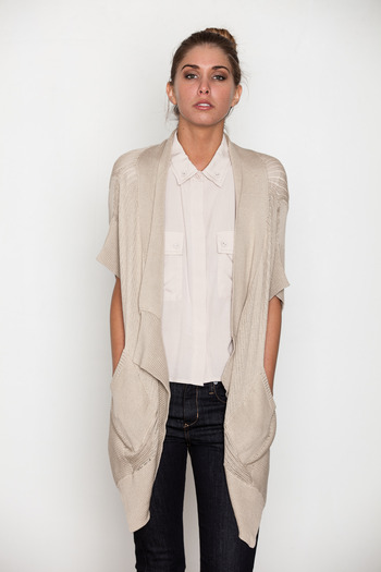 Stones - Al Draped Cardigan