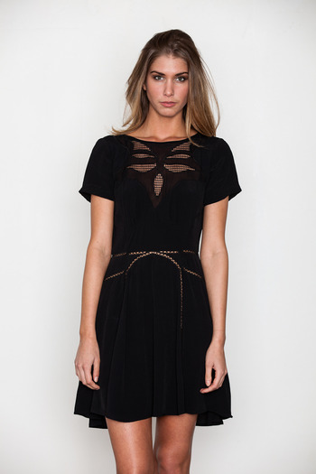 Something Else - Butterfly S/S Dress