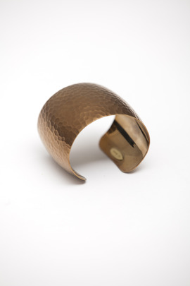 Joomi Lim Hammered Curved Cuff