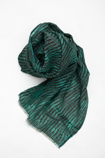 A Peace Treaty - Mizu Teal Scarf