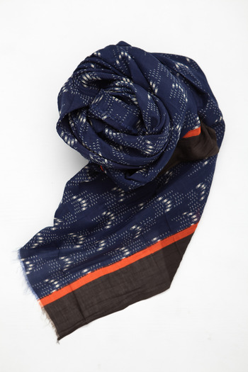 A Peace Treaty - Yumi Navy Scarf