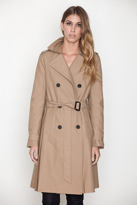 Kai-aakmann Women's Classic Trench