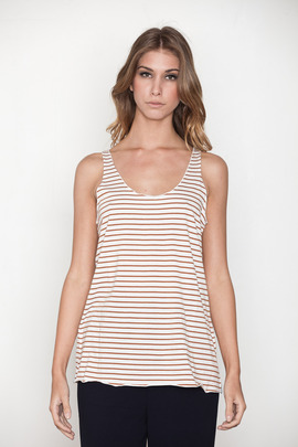 Pretty Penny Stock Picasso Stripe Penny Tank