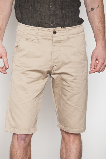 Wings + Horns - Tan West Point Chino Shorts