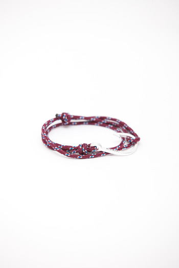 Miansai - Burgundy Rope Hook Bracelet