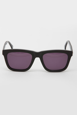 Karen Walker Black Deep Freeze Sunglasses