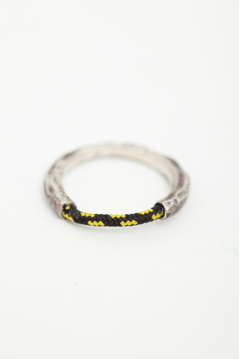 Miansai - Black Half-Rope Ring