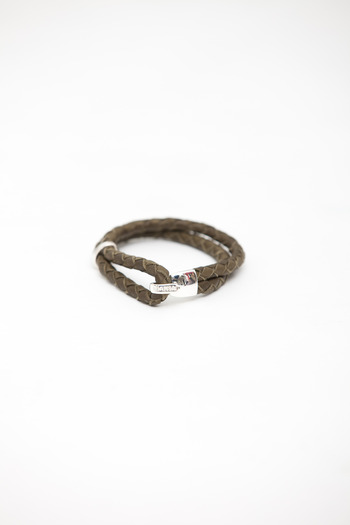 Miansai - Olive Leather Beacon Bracelet