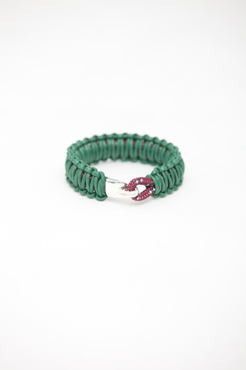 Miansai - Burgundy/Green Mooring Bracelet