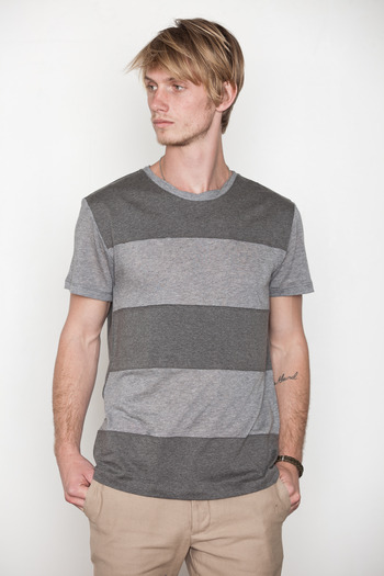 Kai-aakmann Men's - Tonal Colorblocked Tee