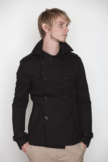 Kai-aakmann Men's - Cropped Trench