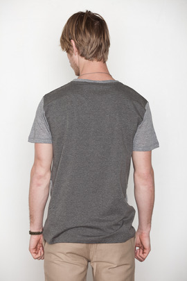 Kai-aakmann Men's Tonal Colorblocked Tee